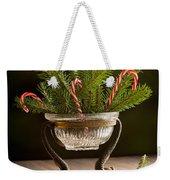 Christmas Pine Weekender Tote Bag
