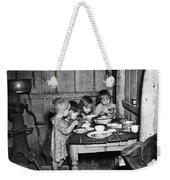Christmas Poor, 1936 Weekender Tote Bag