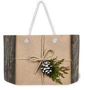 Christmas Present  Weekender Tote Bag by Elena Elisseeva