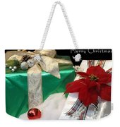 Christmas Presents Weekender Tote Bag