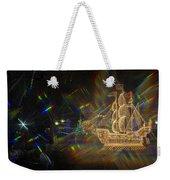 Christmas Ship Weekender Tote Bag
