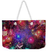 Christmas Stained Glass  Weekender Tote Bag