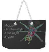 Christmas Star Light 26762 Ge Weekender Tote Bag