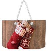 Christmas Stockings Weekender Tote Bag