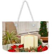 Christmas Table Weekender Tote Bag by Tom Gowanlock