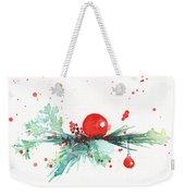 Christmas Theme 3 Weekender Tote Bag
