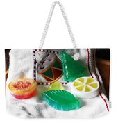 Christmas Thoughts Soap Weekender Tote Bag