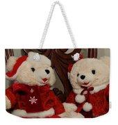 Christmas Time Bears Weekender Tote Bag