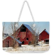 Christmas Time In Idaho Falls Weekender Tote Bag
