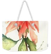 Christmas Tradition Weekender Tote Bag by Sherry Harradence