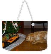 Christmas Train Weekender Tote Bag