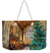 Christmas Tree Weekender Tote Bag