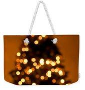 Christmas Tree Bokeh Weekender Tote Bag