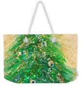 Christmas Tree Gold By Jrr Weekender Tote Bag