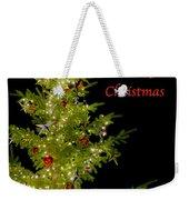 Christmas Tree Lighting Weekender Tote Bag