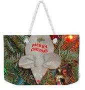Christmas Tree Mouse Weekender Tote Bag