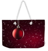 Christmas Tree Ornament Weekender Tote Bag