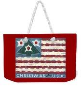 Christmas U.s.a. Weekender Tote Bag