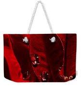 Christmas Velvet Weekender Tote Bag