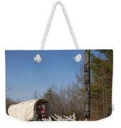 Christmas Wagon Weekender Tote Bag