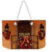 Christmas Window Weekender Tote Bag