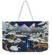 Christmas Wonder Weekender Tote Bag
