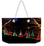 Christmas Wonderland Walk Weekender Tote Bag