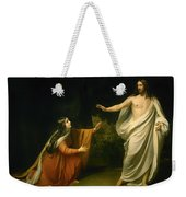 Christs Appearance To Mary Magdalene After The Resurrection Weekender Tote Bag