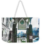 Christ's College Canterbury Weekender Tote Bag