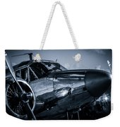 Chrome Twin-engined Beauty Weekender Tote Bag