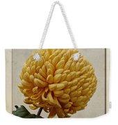 Chrysanthemum Grandiflorum Yellow Weekender Tote Bag