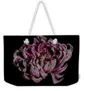 Chrysanthemum Scribble Weekender Tote Bag