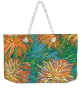 Chrysanthemum Shift Weekender Tote Bag