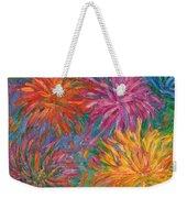 Chrysanthemums Like Fireworks Weekender Tote Bag