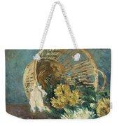 Chrysanthemums Or The Overturned Basket Weekender Tote Bag