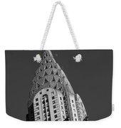 Chrysler Building Bw Weekender Tote Bag