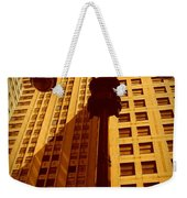 Rockefeller Building In Manhattan Weekender Tote Bag