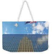Chrysler Building Reflections Vertical 1 Weekender Tote Bag