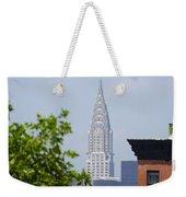 Chrysler Building View Weekender Tote Bag