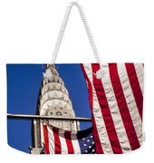 Chrysler Flags Weekender Tote Bag