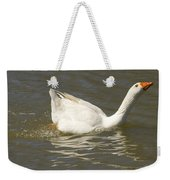 Chuck The Duck Looking At You Weekender Tote Bag