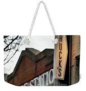 Chuck's Raleigh Weekender Tote Bag by Paulette B Wright