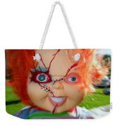 Chuckys Coming Weekender Tote Bag