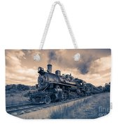 Full Steam Through The Meadow Weekender Tote Bag