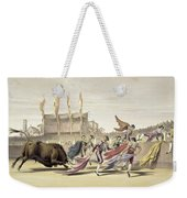 Chulos Playing The Bull, 1865 Weekender Tote Bag