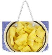 Chunks Of Pineapple Weekender Tote Bag