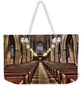 Church Aisle Weekender Tote Bag