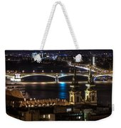 Church And Bridge Weekender Tote Bag