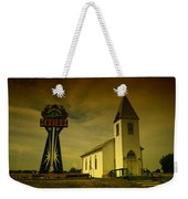 Church And Casino Those Two Angels  Weekender Tote Bag