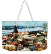 Church And River Weekender Tote Bag